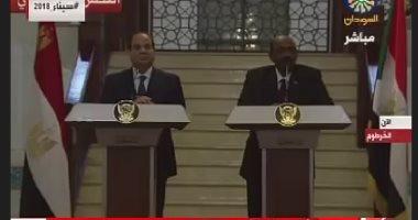 شاهد فى دقيقة ..أهم الاتفاقات التجارية بين مصر والسودان