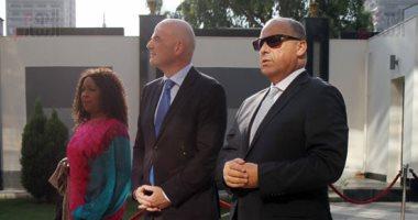 انفانتينو يصل القاهرة غدا لحضور حفل افتتاح أمم افريقيا