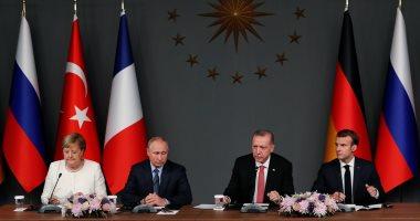 البيان الختامى لقمة إسطنبول بشأن سوريا يشدد على أهمية وقف إطلاق النار
