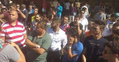 وصول أول أفواج قطار الشباب إلى مدينة أسوان