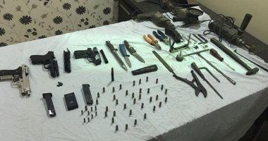 تجديد حبس 12 متهم ضبط بحوزتهم أسلحة نارية وذخيرة فى الجيزة