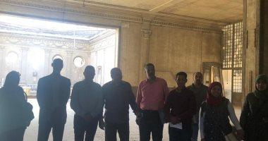 صور.. نائب شبرا يعلن بدء لجنة وزارة الآثار فى تطوير قصر طوسون باشا