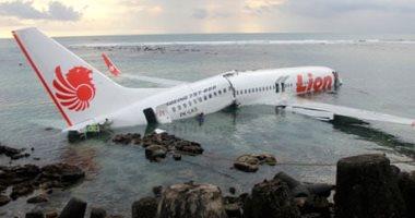 شاهد.. الأجزاء الأولى المنتشلة من جسم الطائرة الإندونيسية المنكوبة - اليوم  السابع
