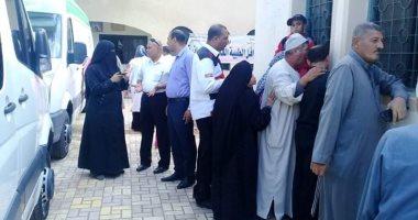 صور..  قافلة طبية تجرى الكشف على 1550 مواطنا بقرية الشباسية بكفر الشيخ