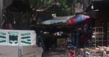 قارئ يطالب بنقل سوق الخلفاوى بشبرا بعيدا عن المنازل السكنية