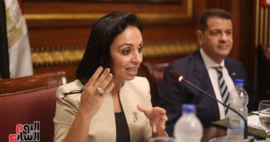 صور.. مايا مرسى: مصر تمتلك إرادة سياسية لتنفيذ أجندة المراة باستراتيجية 2030