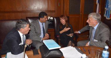 سفير مصر بصربيا يشارك بالمؤتمر الأوروبى لإطلاق كتاب بطرس غالى