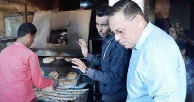 محافظ الشرقية يتفقد مخابز قرية بردين للتأكد من جودة الخبز