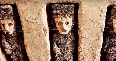 """صور.. """"حراس الزمان"""" حكاية 19 تمثالا أثريا عثر عليها فى بيرو"""