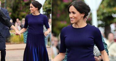 صور.. ميجان ماركل تكسر قواعد القصر الملكى بسبب فستان مثير.. اعرف الحكاية