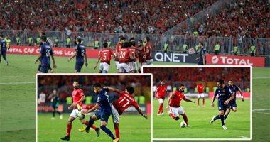 انطلاق مباراة الاهلى والترجي في إياب نهائي أفريقيا باستاد رادس