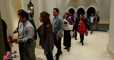 وفود الإعلاميين تصل شرم الشيخ للمشاركة فى منتدى شباب العالم