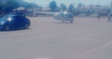 الجوع كافر.. شرطى يهبط بمروحية أمام مطعم لشراء وجبة دجاج بجنوب إفريقيا