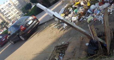 قارئ يشكو وجود بالوعة صرف بدون غطاء بشارع الميثاق فى زهراء مدينة نصر