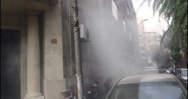 اندلاع حريق داخل ورشة سيارات فى بولاق الدكرور واﻹطفاء تحاول إخماده