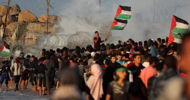 ارتفاع أعداد المصابين بنيران الاحتلال بمسيرات العودة بغزة إلى 38 فلسطينيا