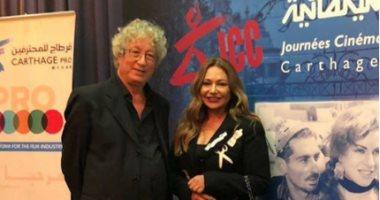 ليلى علوى تستعد لعرض فيلم المصير بساحة بورقيبة فى مهرجان قرطاج السينمائى