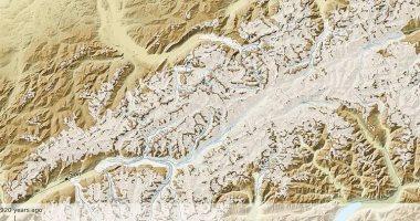 كيف تغيرت جبال الألب على مدار 115000 عام؟ فيديو جديد يكشف الفروق