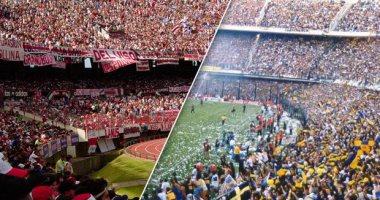 رئيس الأرجنتين يطالب البرلمان بسن قانون مكافحة الشغب فى ملاعب الكرة