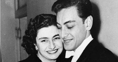 شاهد .. صورة نادرة للراحل جميل راتب مع زوجته الفرنسية - اليوم السابع
