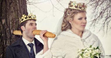 جه يكحلها عماها.. شاهد 25 لقطة من أسوأ صور الزفاف المعدلة بالفوتوشوب