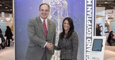 وزيرة السياحة تلتقى نظيرها الإنجليزى على هامش بورصة لندن الدولية (صور وفيديو)