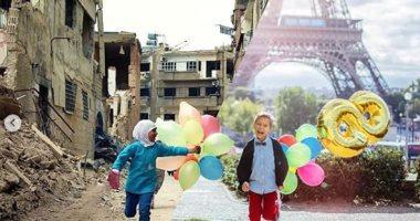 ما بين الحرب والسلام.. مشروع لشاب هدفه رصد الوضع فى عالمين متناقضين