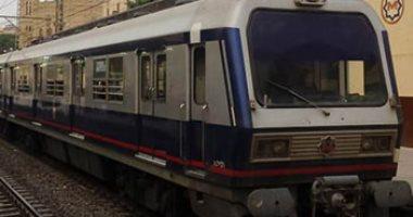 المترو يبدأ تخفيض سرعة قطارات الخطين الأول والثانى لارتفاع درجات الحرارة