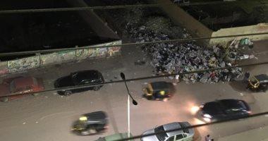 قارئ يشكو من انتشار القمامة والكلاب بشارع كعبيش بمنطقة الطوابق