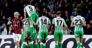 فيديو.. ميلان يتعادل إيجابيا مع ريال بيتيس فى الدورى الأوروبى