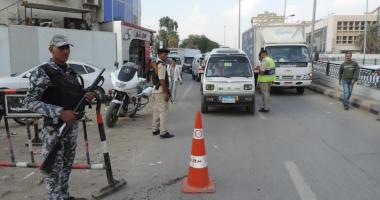 أمن الجيزة يستهدف شارع مستشفى الصدر فى العمرانية بحملة أمنية