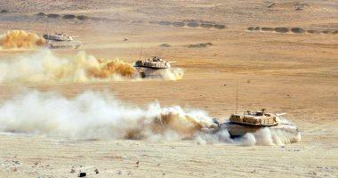 """صور.. أنشطة بحرية وبرية وجوية مكثفة للقوات المشاركة فى تدريبات """"درع العرب ١"""""""