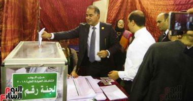 """مشادات كلامية بين مرشحى """"عليا الوفد"""" واللجنة المشرقة عقب إغلاق باب التصويت"""