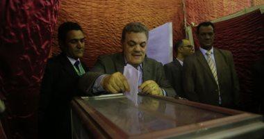 صور.. السيد البدوى يصل مقر الوفد للإدلاء بصوته فى انتخابات الهيئة العليا للحزب