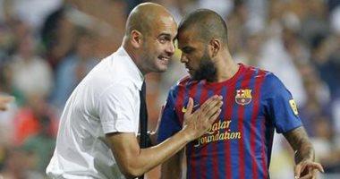 ألفيس: اللعب فى برشلونة مع جوارديولا أفضل من ممارسة الجنس.. وبيب يرد