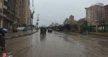 الأمطار تغرق الغربية ودمياط والإسكندرية وتوقف حركة الصيد بكفر الشيخ
