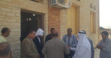 صور.. محافظ شمال سيناء يكلف مديرى الخدمات بسرعة إنهاء مشروعات قرية الروضة