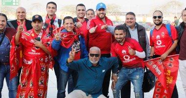 التاسعة يا أهلى.. جماهير الأحمر قبل السفر لتونس لدعم فريقها أمام الترجى