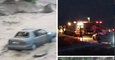 فيديو.. سيول تضرب العديد من المناطق فى الأردن
