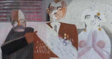 """شاهد.. """"كلود لومان"""" لبنانى يهدى 1300 لوحة لـ متحف الفن العربى فى باريس"""