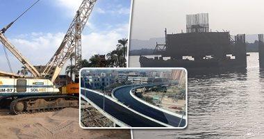 مشروع محور قوص أعلى النيل بالصعيد بتكلفة 1.3 مليار جنيه × 10 معومات