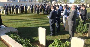 مقبرة جنود الحرب العالمية فى طرابلس