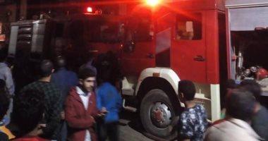 إصابة عامل واحتراق جهاز عرس ابنته فى حريق بمنزل ببنى سويف