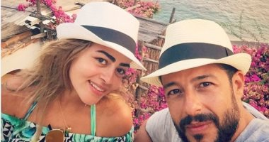 محمد حماقى وزوجته