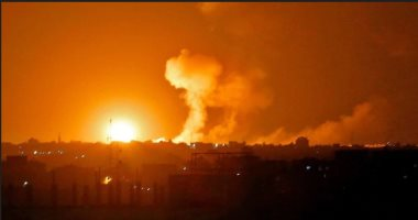 الاحتلال الإسرائيلى يشن ضربات جوية على قطاع غزة