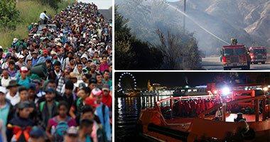 مهاجرو أمريكا الوسطى يواصلون الفرار إلى الولايات المتحدة