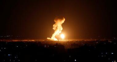 إسرائيل تقصف محطة تلفزيون الأقصى فى قطاع غزة