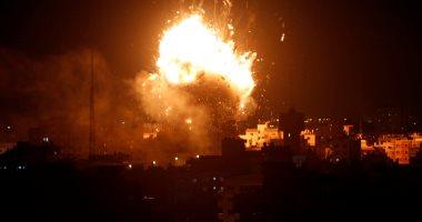 القصف الإسرائيلى على غزة