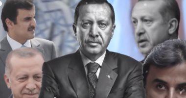 أردوغان وتميم بن حمد رؤوس خراب المنطقة