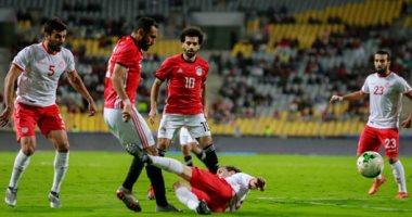 أهداف مباراة مصر و تونس بتصفيات أمم أفريقيا